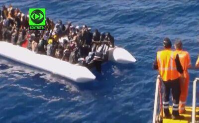 18.04.2015 | Gigantyczna fala imigrantów z Afryki Północnej zalewa Europę