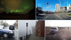 Ucieczka w oku kamery, szarża między pieszymi, a może zorza polarna?