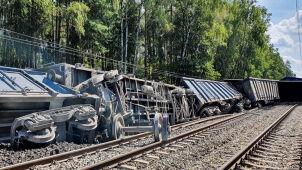 Wykoleił się pociąg towarowy. Były utrudnienia