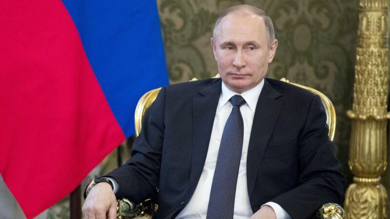 """""""Tęczowy Putin"""" zabroniony. Nawet pięć lat za złamanie zakazu"""