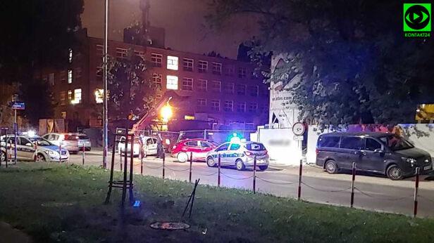 Akcja policji na Żoliborzu Łukasz / Kontakt 24
