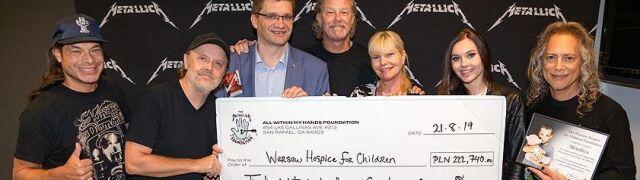 Metallica wsparła nieuleczalnie chore dzieci