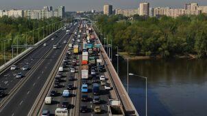 Rekordowe wiosna i lato na warszawskich mostach