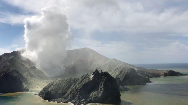Wysokie ryzyko ponownego wybuchu wulkanu White w Nowej Zelandii