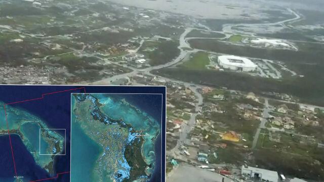 Huragan Dorian spustoszył Bahamy. Na zdjęciach widać ogromną skalę zniszczeń