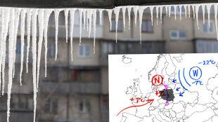 """Pogoda będzie zależeć od """"humorów rosyjskiego wyżu"""""""
