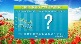 Wasilewskiego prognoza pogody na 16 dni: prawie 30 stopni w maju