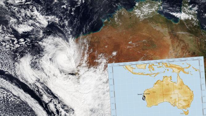 Ewakuują mieszkańców, układają worki z piaskiem. <br />Niebezpieczny cyklon u wybrzeża Australii