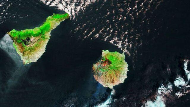 Ogień trawi lasy Gran Canarii. Pożary widać na zdjęciach satelitarnych