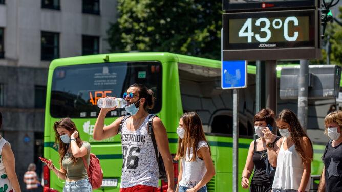 Ponad 40 stopni Celsjusza. <br />Południe Europy w szponach upału