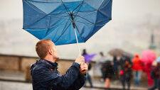 Opady i silny wiatr. Prognoza zagrożeń