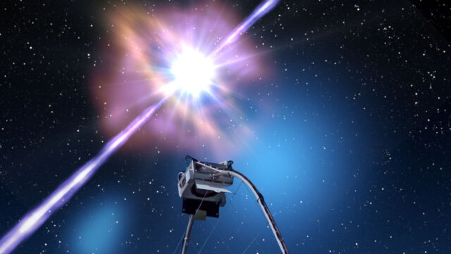 W 25 sekund alert obiegł świat.  Wykryli rekordowy rozbłysk w kosmosie