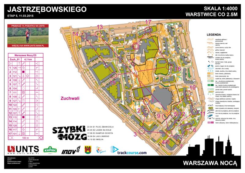 Warszawa Nocą - kategoria Zuchwali