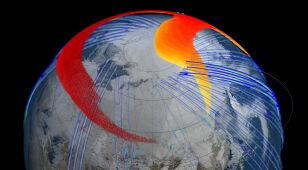 """Naukowcy """"na żywo"""" obserwują chmurę pyłu po eksplozji nad Czelabińskiem"""