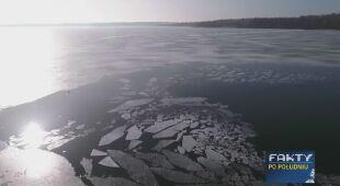 Topniejący lód jest bardzo niebezpieczny
