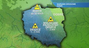 Warunki drogowe w piątek 06.03