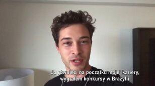 Brazylijski model wysłał specjalną wiadomość do Dawida z Top Model